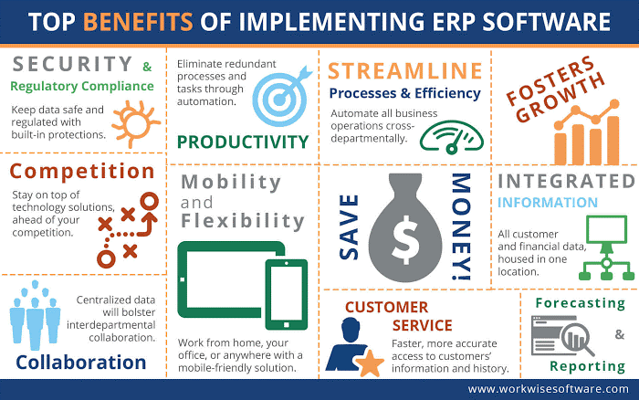 Top Benefits of Implementing ERP Software